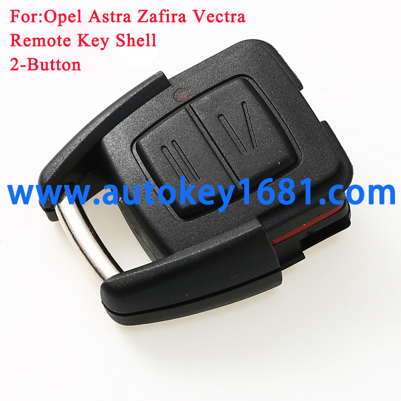 Remote Key Shell fit for Vauxhall Opel Astra Zafira Vectra 2 Button Case Fob without head