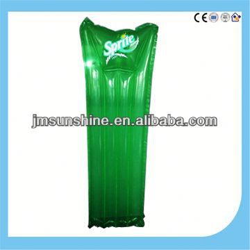 pvc inflatable water bed / beach mattress
