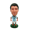 Factory custom make 3d miniature plastic toys footballers,custom famous football player model plastic toys footballers figures