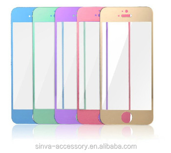 Sinva 2.5D Curved edge 0.3mm Ultra tempered glass screen protectors for iPhone 6 Welcome OEM/ODM