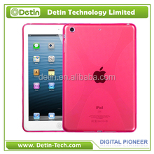 Made In China X Lines TPU Cover Case For iPad Min