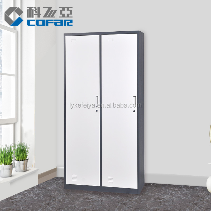 Luoyang Factory Direct Colorful Steel Cabinet Wardrobe