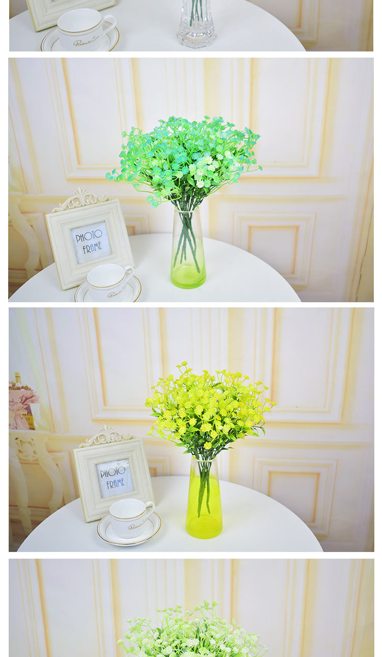 Artificial flowers babysbreath bouquets for homes wedding table ...