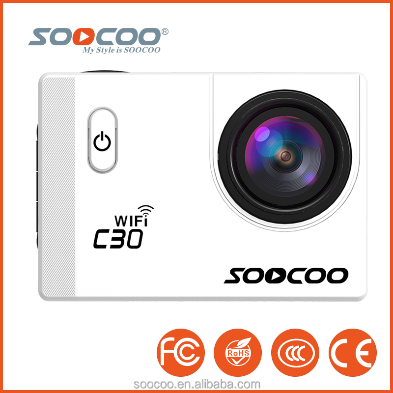SOOCOO C30 Sports Action Camera 4k Wifi 70-170 Dregree Lens Available