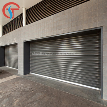 Hot sale remote control security shop front roller shutter