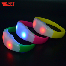 New function event decoration equipment RGB led light flashing remote control 33 buttons concert dmx led bracelet