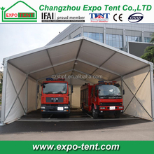 25m clear span garage tent for trucks
