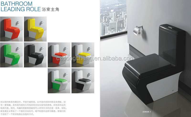 Bathrooom color ceramic sanitary ware uae fabric A3952B