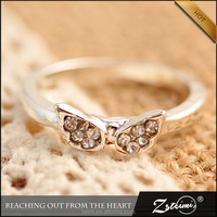 Zsteimi Jewelry Small Diamond Ring Female Angel Wings Gold Angle Wing Finger Ring Rings Design For Women With Low Price