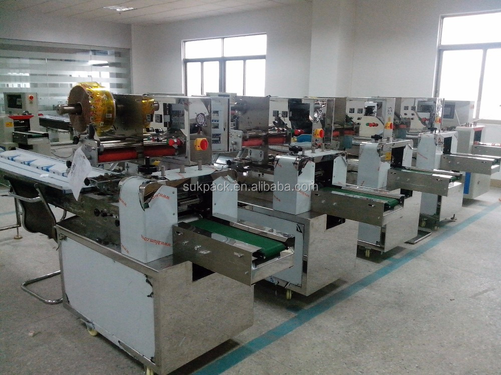 Automatic packing machine cereal bar snack food packing machine