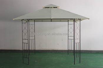 3x3m double-roof shelter gazebo canopy