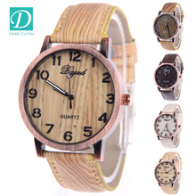 Free Shipping Wooden Watch Children Creative Wrist Watch