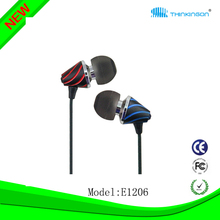 Earphone - Super Bass Earphone/Earbuds/Headphones/Headset for Apple iPhone iPod Samsung MP3 MP4 Player (customize color)