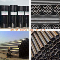 BLACK WELDED SQUARE STEEL PIPE & TUBE USED FOR FURNITURE