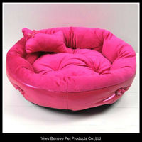 red color animal cage bed for dogs and cats