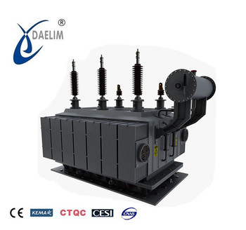 High reliable oil immersed 66kv 10 mw substation