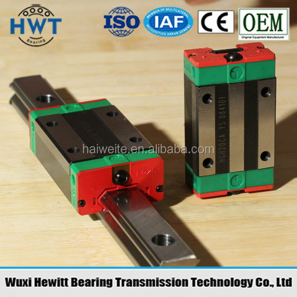HIWIN HGH,HGW,EGH,EGW,EGN,MGW,HGR,EGR,HGL Series Linear Guide and block bearing factory price