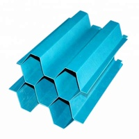 industrial Sedimentation tank PP Water treatment media Plastic Lamella Clarifier Plate Tube settlers lamella clarifiers