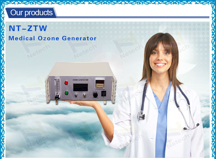 3g/hr to 7g/hr medical dental small cold corona discharge ozone generator for blood therapy