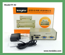 OEM High quality 2//4/ 8 port 350MHZ VGA splitter, VGA quad splitter