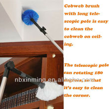 Telescopic long handle ceiling duster