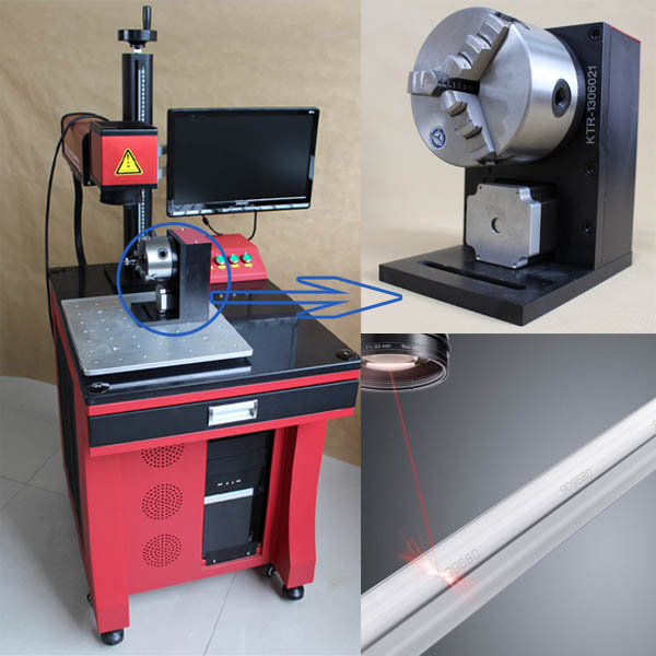 Hot sale stainless steel / carbon steel /iron/ aluminum / copper/ brass fiber laser marking machine/marker/engraving /printing
