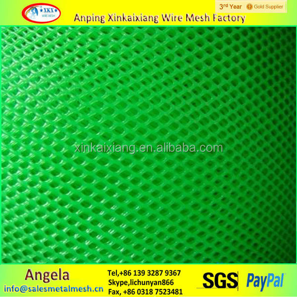 Plastic flat net / pe plastic net for chicken made in china