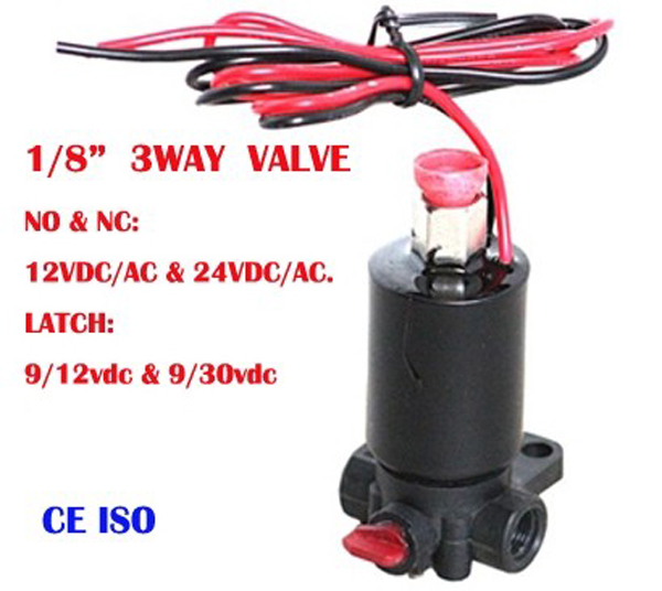 electric water 3way flow diverter valve