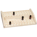 Wholesale open frame exquisite Essential Oil Wooden Box(fits 10--more bottles)