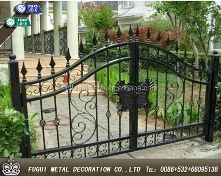 High quality OEM modern steel gates design