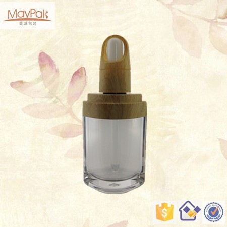 diamond shape 10ml acrylic cosmetic essential oil bottle