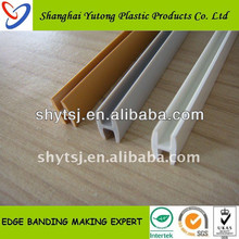 PVC H-shape edge banding for cabinet