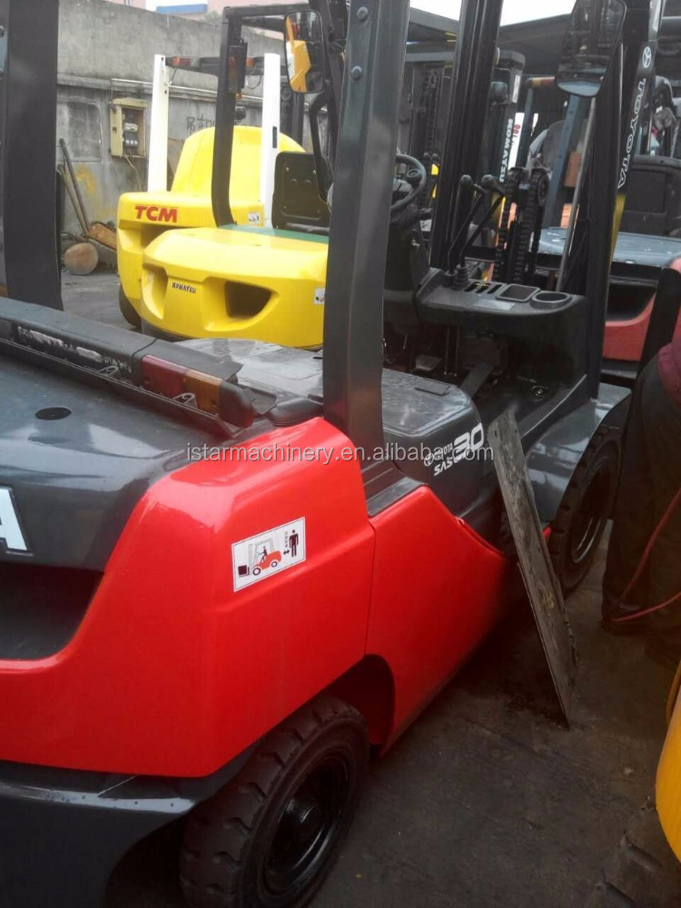 Toyota 8fd30 3T forklift automatic transmission good looking lift truck