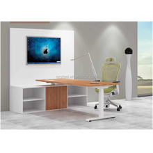 Electric controled height adjustable desk for office