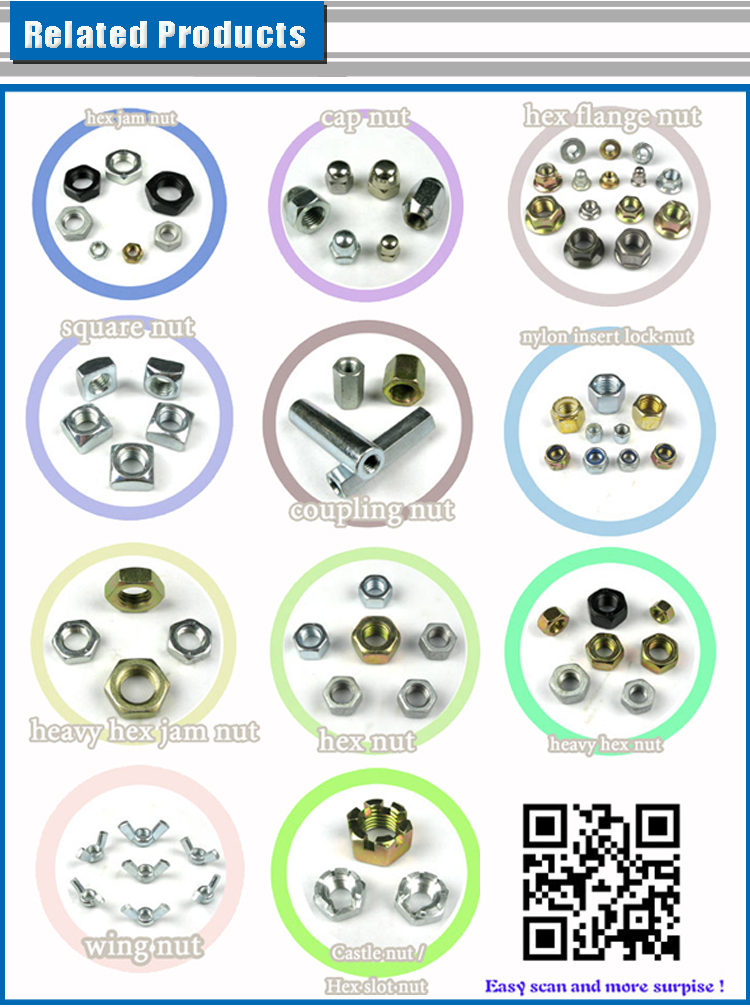 High quality price kinds of steel special bolt