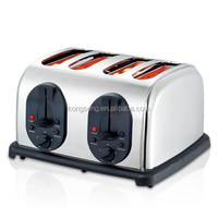 Best selling 4 slices electric commerical bread toaster