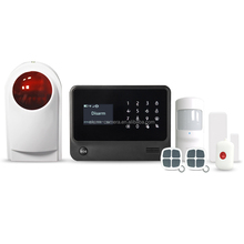 Home automation wireless burglar alarm system control 100 sensors and wireless relay output ,golden security produce
