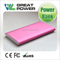 Beautiful skin and new shell style cell phone power bank 4500mah