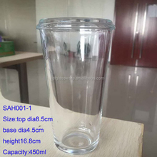 15OZ 450ML High Strength Hard Tempered Toughened Drinking Beverage Glass