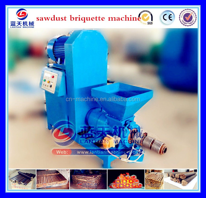 China Sugarcane Bagasse Charcoal Briquette Machine Supplier/coconut Shell Charcoal Briquette Machine