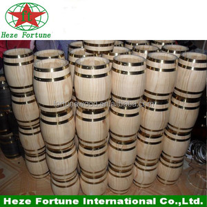 China manufacturer supply cheap wooden barrel for sale