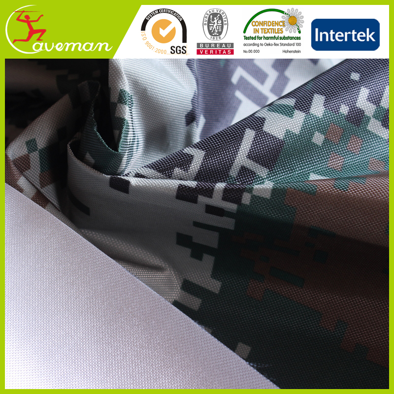 420d polyester oxford waterproof sun protection fabric silver coated car covers fabric