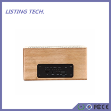 2017 Trending Products Portable Wireless Wooden altavoz bluetooth