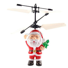 China Shantou Chenghai toy factory Christmas Toy Flying Santa Claus Toy for kids
