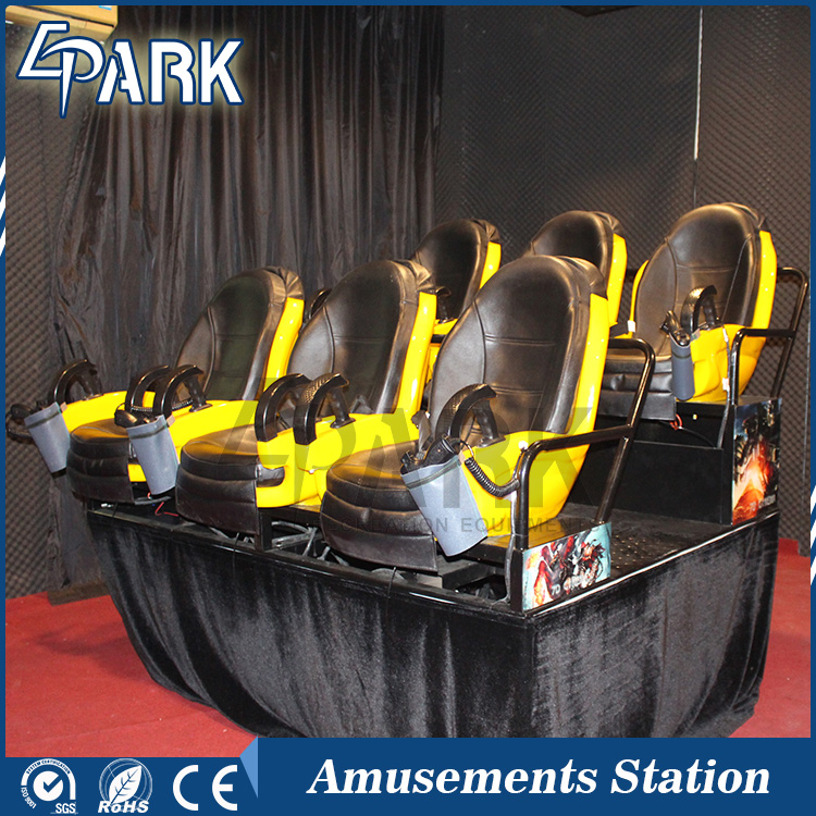 Adventure game/virtual 5d cinema equipment for amusment park