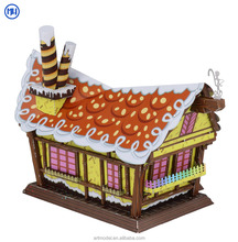 MU 2018 3D diy Valentine's Candy House Metal Model Puzzle Creative Assembly Toys for Girls