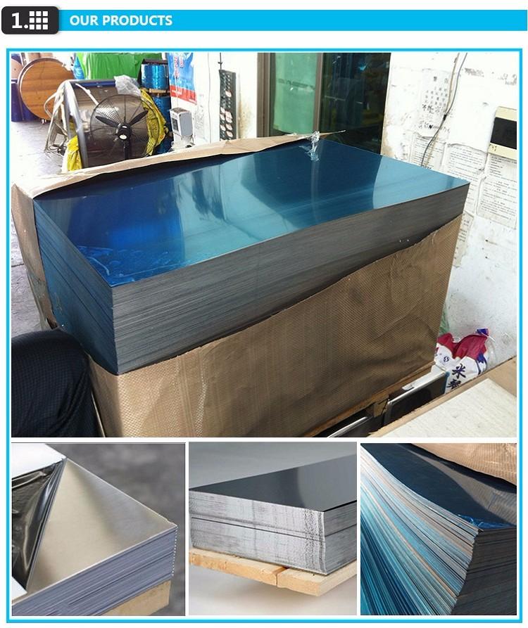 8K Mirror Finish Stainless Steel Sheet