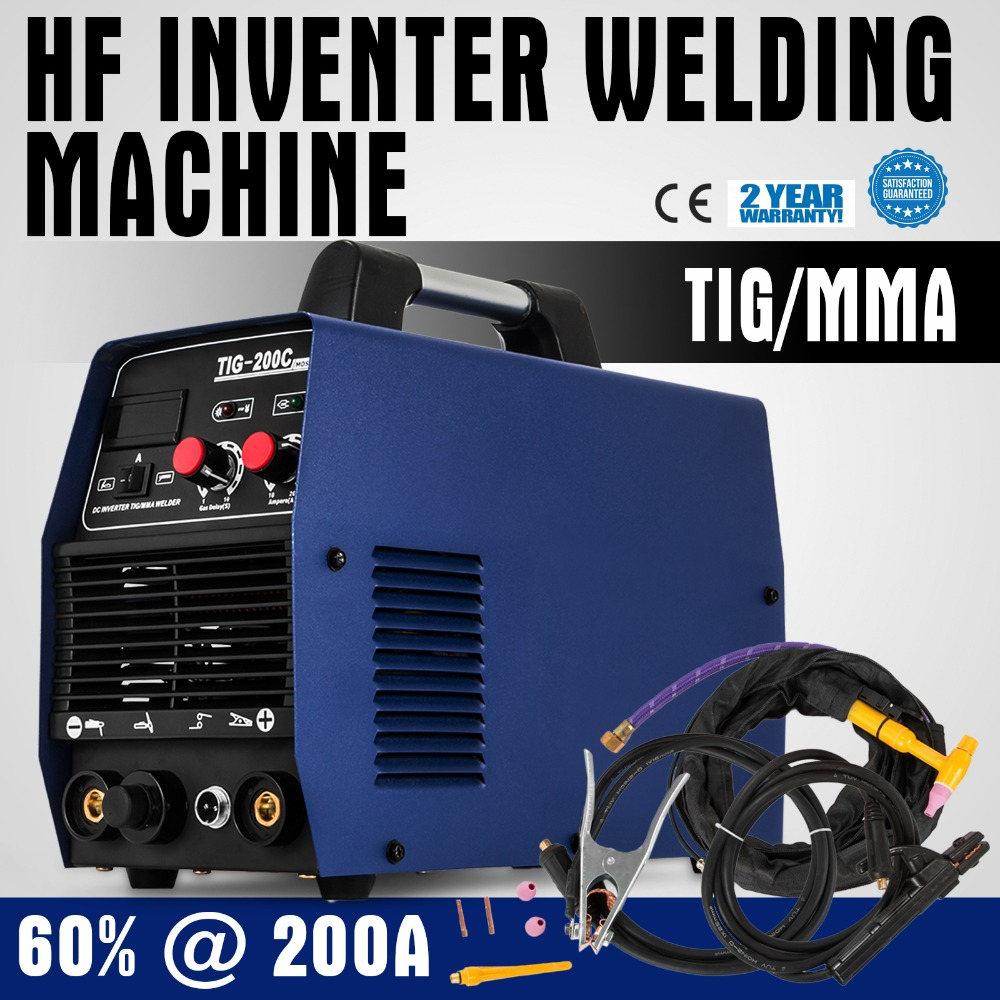 TIG 200 Inverter <strong>Welding</strong> Machine TIG / MMA 200A Welder HF Ignition