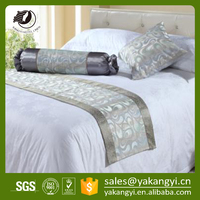 Foshan Factory Wholesale Decorative Bed Runner YKY506