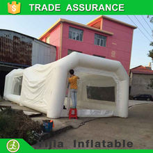 Big sale good quality powder inflatable spray paint booth